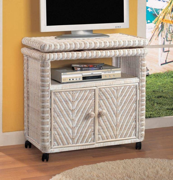 Sea Winds Trading - Santa Cruz Low TV Stand -  -