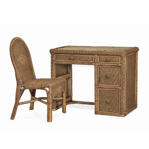 Sea Winds Trading Sea Winds Trading Santa Cruz Computer Desk & Chair Set B57974-Jacobean Desk - Rattan Imports