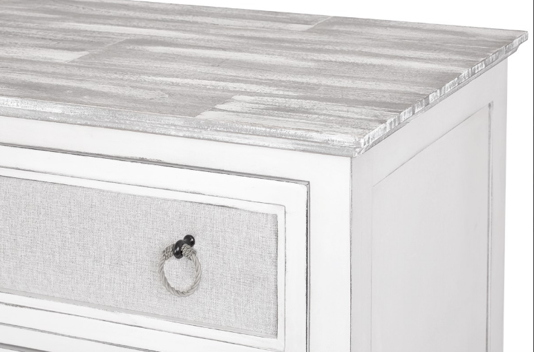 Sea Winds Trading Sea Winds Trading Captiva Island 3-Drawer Chest B86333 Drawer - Rattan Imports