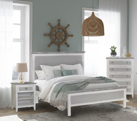 Sea Winds Trading Sea Winds Trading Captiva Island Queen Bed Bed - Rattan Imports