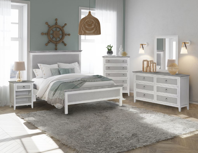 Sea Winds Trading Sea Winds Trading Captiva Island Queen Headboard B86340 Headboard - Rattan Imports