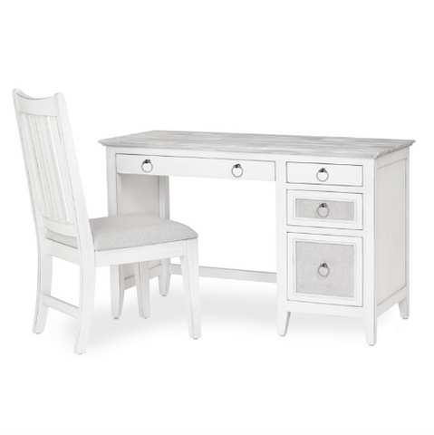 Sea Winds Trading Sea Winds Trading Captiva Island Desk & Chair Set B86374 Desk - Rattan Imports