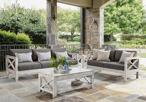 South Sea Rattan South Sea Rattan Farlowe 5-Piece Seating Set with Cushions Outdoor Furniture Set - Rattan Imports