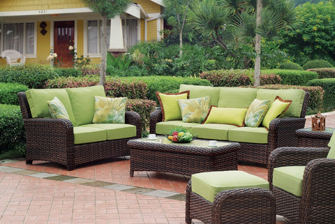St. Tropez Sofa by South Sea Rattan-South Sea Rattan-Rattan Imports