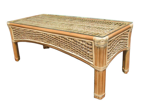 Spice Islands Spice Island Coffee Table Natural Coffee Table - Rattan Imports
