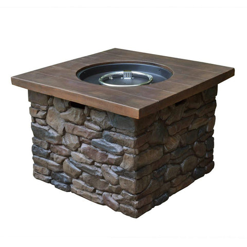 Yosemite II Propane Fire Pit by Tortuga Outdoor-Tortuga Outdoor-Rattan Imports