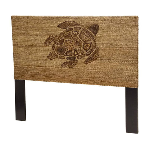 Sea Winds Trading Sea Winds Trading Turtle Weave Queen Headboard Natural Headboard - Rattan Imports