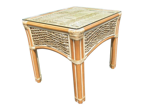 Spice Islands Spice Island End Table Natural End Table - Rattan Imports