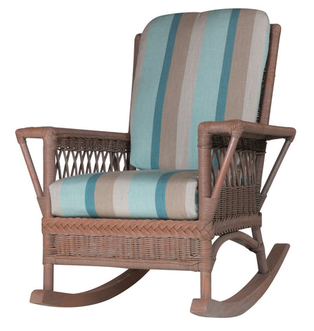 Designer Wicker & Rattan By Tribor Windsor Rocker by Designer Wicker from Tribor Rocking Chair - Rattan Imports