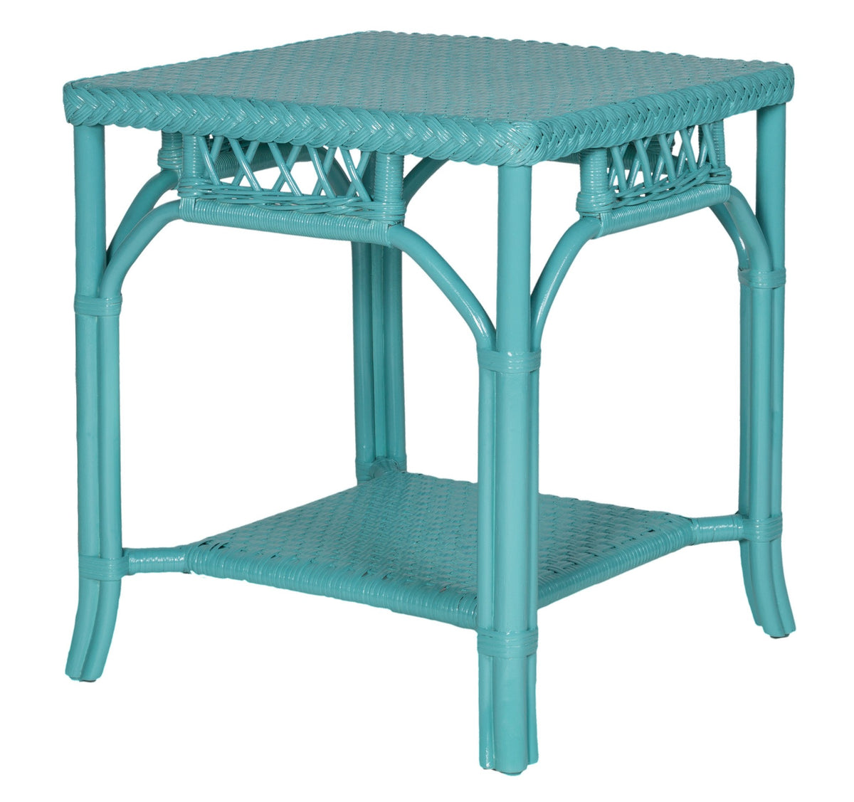 Designer Wicker & Rattan By Tribor Windsor End Table by Design Wicker from Tribor End Table - Rattan Imports