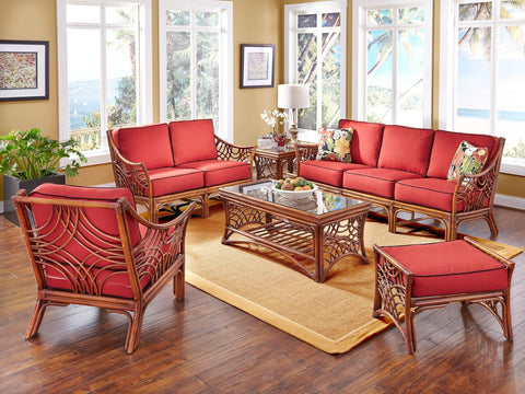 Spice Islands - BALI LOVE SEAT BROWN -  -