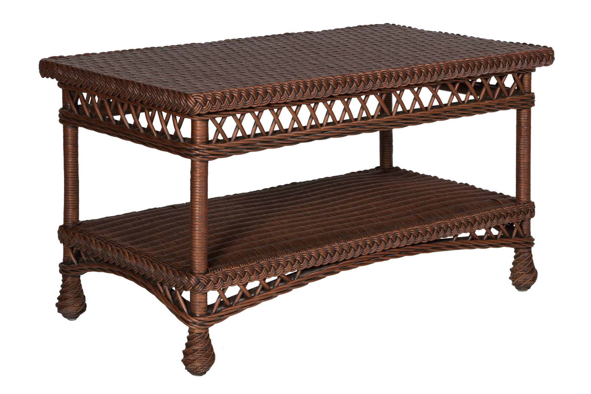 Designer Wicker & Rattan By Tribor Rockport Coffee Table by Designer Wicker from Tribor Coffee Table - Rattan Imports