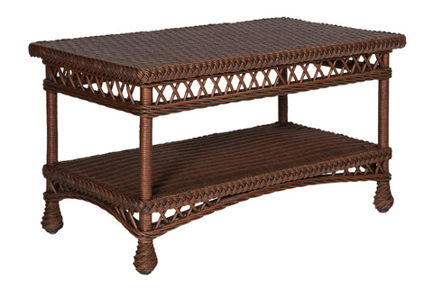 Designer Wicker & Rattan By Tribor Designer Wicker by Tribor Bar harbor Coffee Table Coffee Table - Rattan Imports