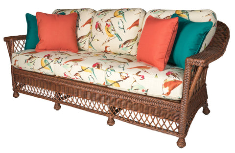 Designer Wicker & Rattan By Tribor - Bar Harbor Sofa -  -  - 1
