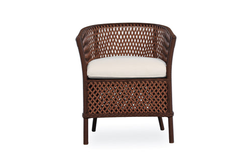 Lloyd Flanders Grand Traverse Barrel Dining Chair