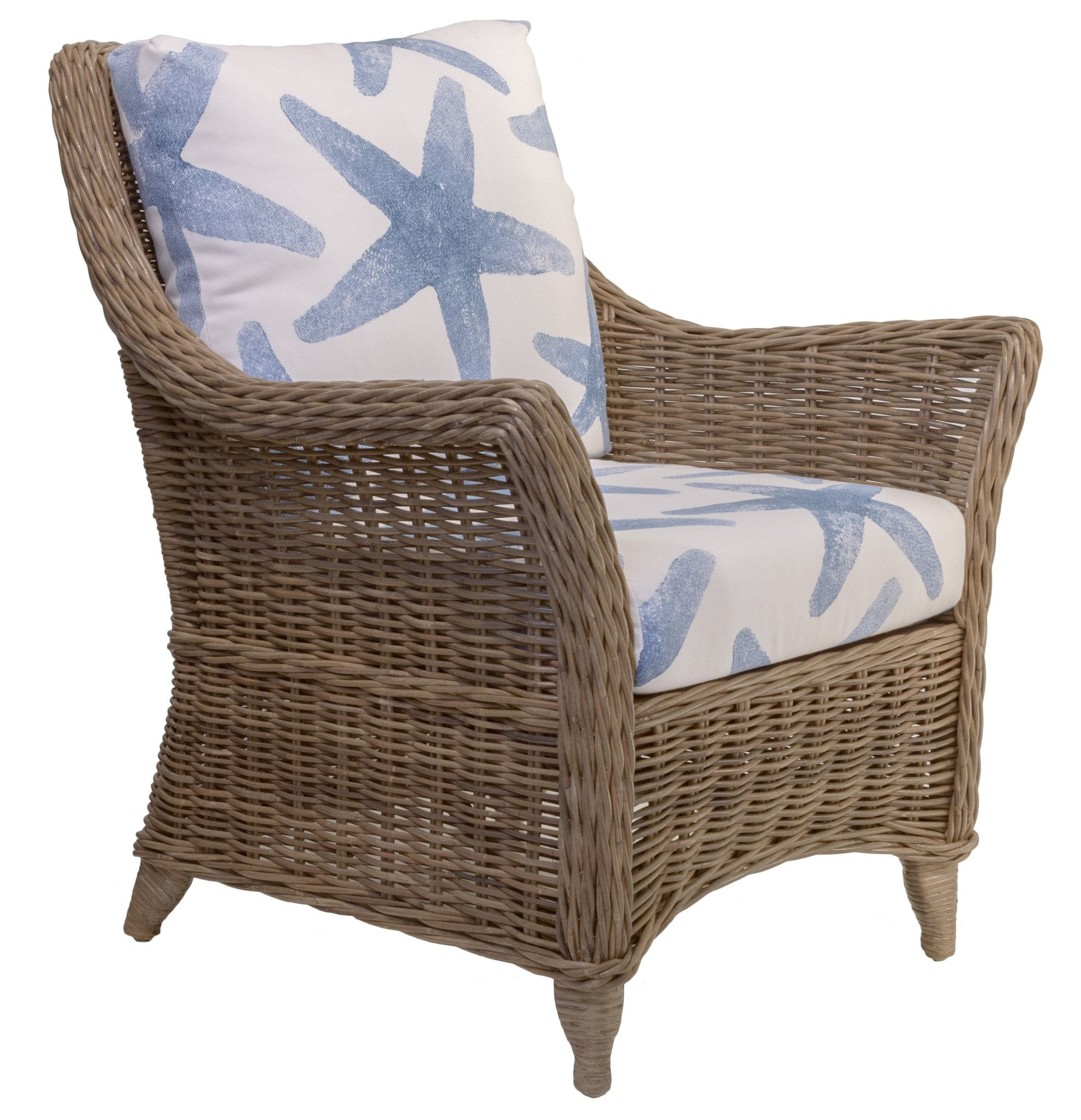 Designer Wicker & Rattan By Tribor Conservatory Arm Chair by Designer Wicker from Tribor Chair - Rattan Imports