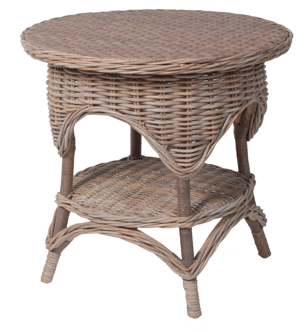 Designer Wicker & Rattan By Tribor Conservatory End Table End Table - Rattan Imports