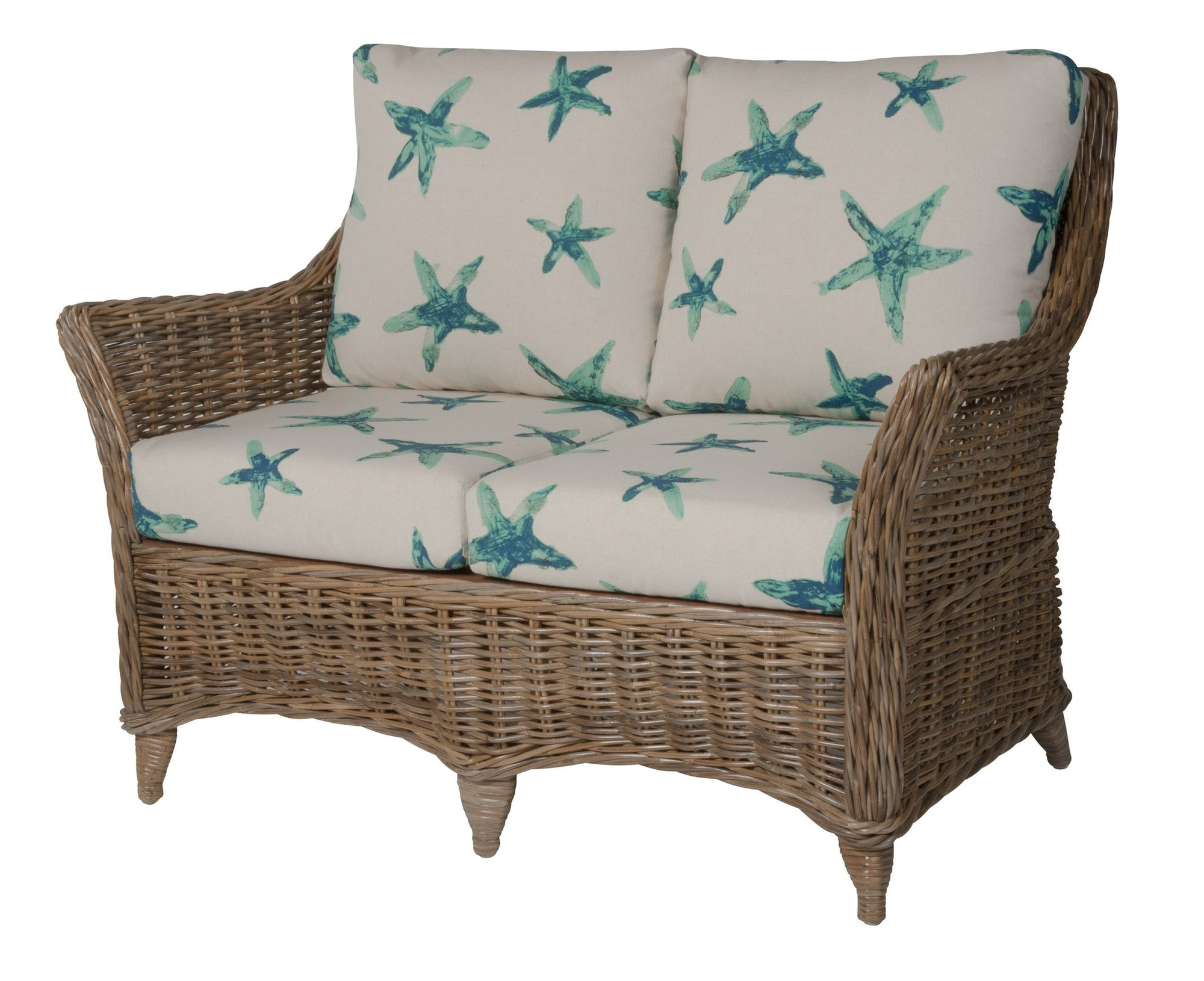 Designer Wicker & Rattan By Tribor Conservatory Loveseat by Designer Wicker from Tribor Loveseat - Rattan Imports