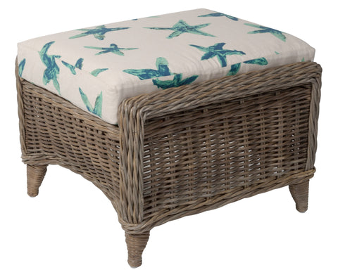 Designer Wicker & Rattan By Tribor Conservatory Ottoman by Designer Wicker from Tribor Ottoman - Rattan Imports