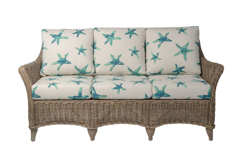 Designer Wicker & Rattan By Tribor Conservatory Sofa by Designer Wicker from Tribor Sofa - Rattan Imports