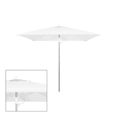 Source Furniture Source Furniture Rio 9' Square Single Vented Umbrella - Rattan Imports