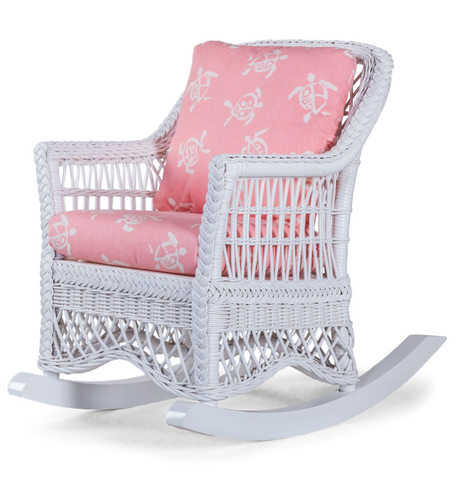 Naples Child Rocker by Designer Wicker from Tribor