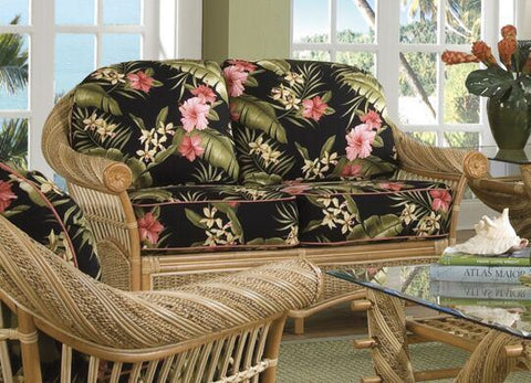 Spice Islands Spice Islands Maui Twist Love Seat Natural Loveseat - Rattan Imports