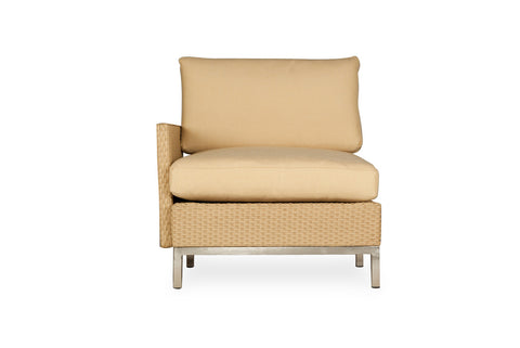 Lloyd Flanders Lloyd Flanders Elements Right Arm Lounge Chair With Loom Arms & Back Chair - Rattan Imports