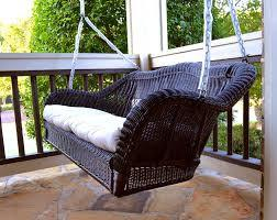 Tortuga Outdoor Portside Porch Swing (Dark Roast Only - Cushion Not Included)