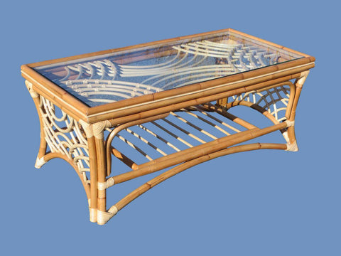 Spice Islands Spice Islands Bali Coffee Table Natural Coffee Table - Rattan Imports