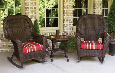 Tortuga Outdoor - Lexington 3Pc Rocker & Table Set -  -