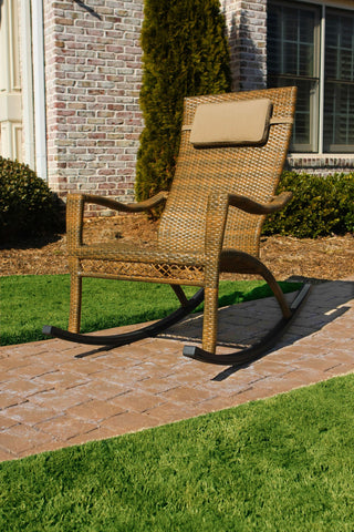 Tortuga Outdoor Tortuga Outdoor Maracay Rocking Chair Rocking Chair - Rattan Imports