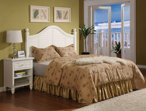 Sea Winds Trading - Oceanside Shutter King Bed -  -