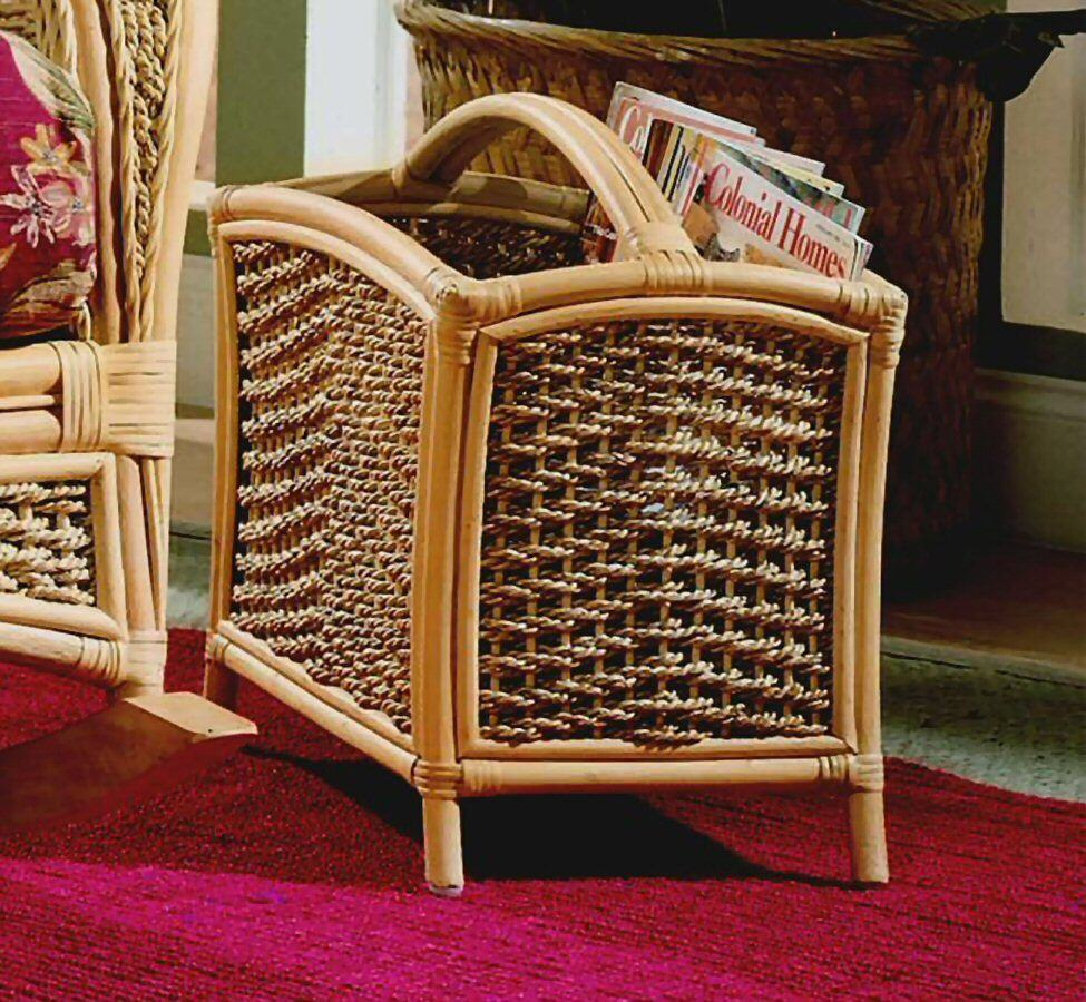 Spice Islands Spice Island Magazine Rack Natural Accessory - Rattan Imports