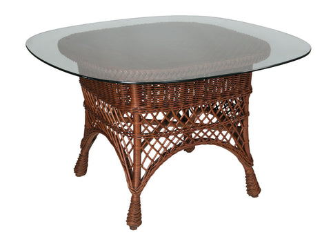 Designer Wicker & Rattan By Tribor Rockport Dining Table by Designer Wicker from Tribor Dining Table - Rattan Imports