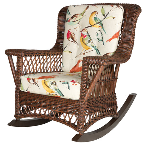 Designer Wicker & Rattan By Tribor Rockport Rocker by Designer Wicker from Tribor Rocking Chair - Rattan Imports