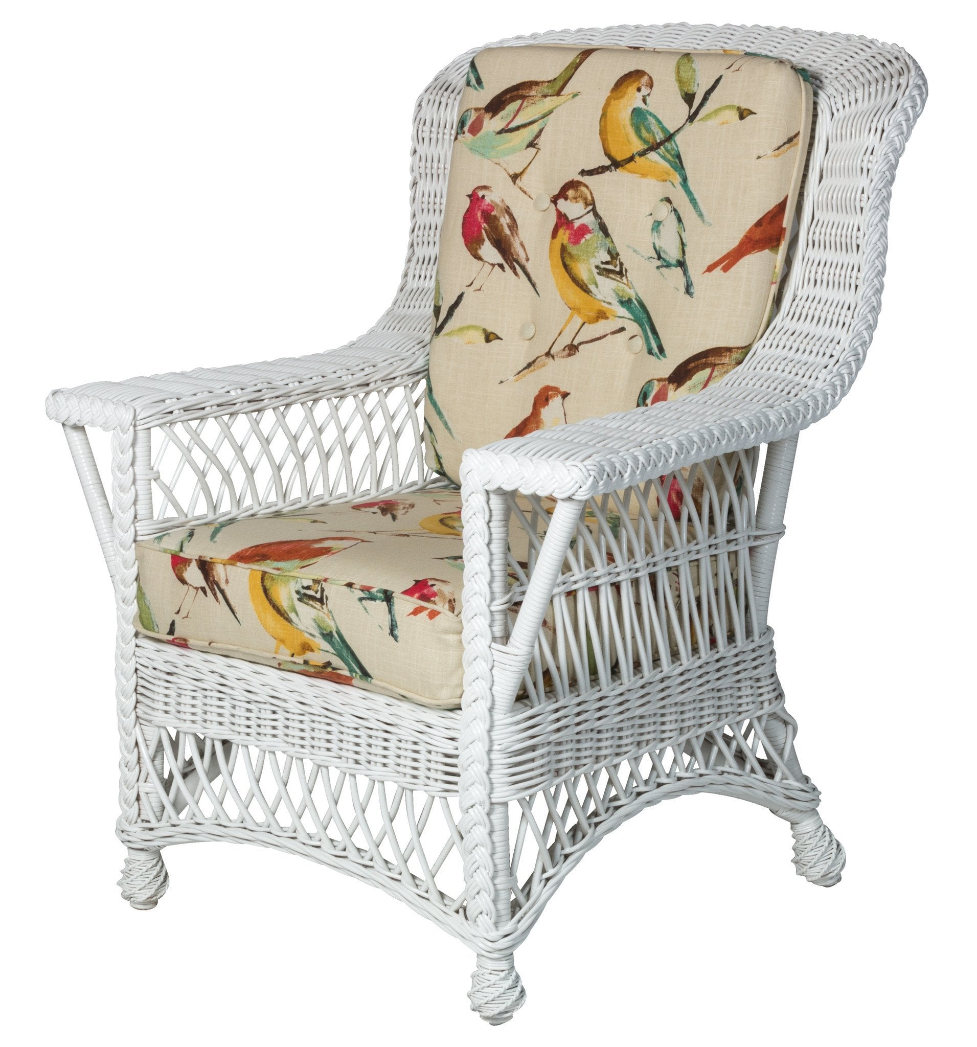 Designer Wicker & Rattan By Tribor Rockport Arm Chair (Rocker Size) by Designer Wicker from Tribor Chair - Rattan Imports