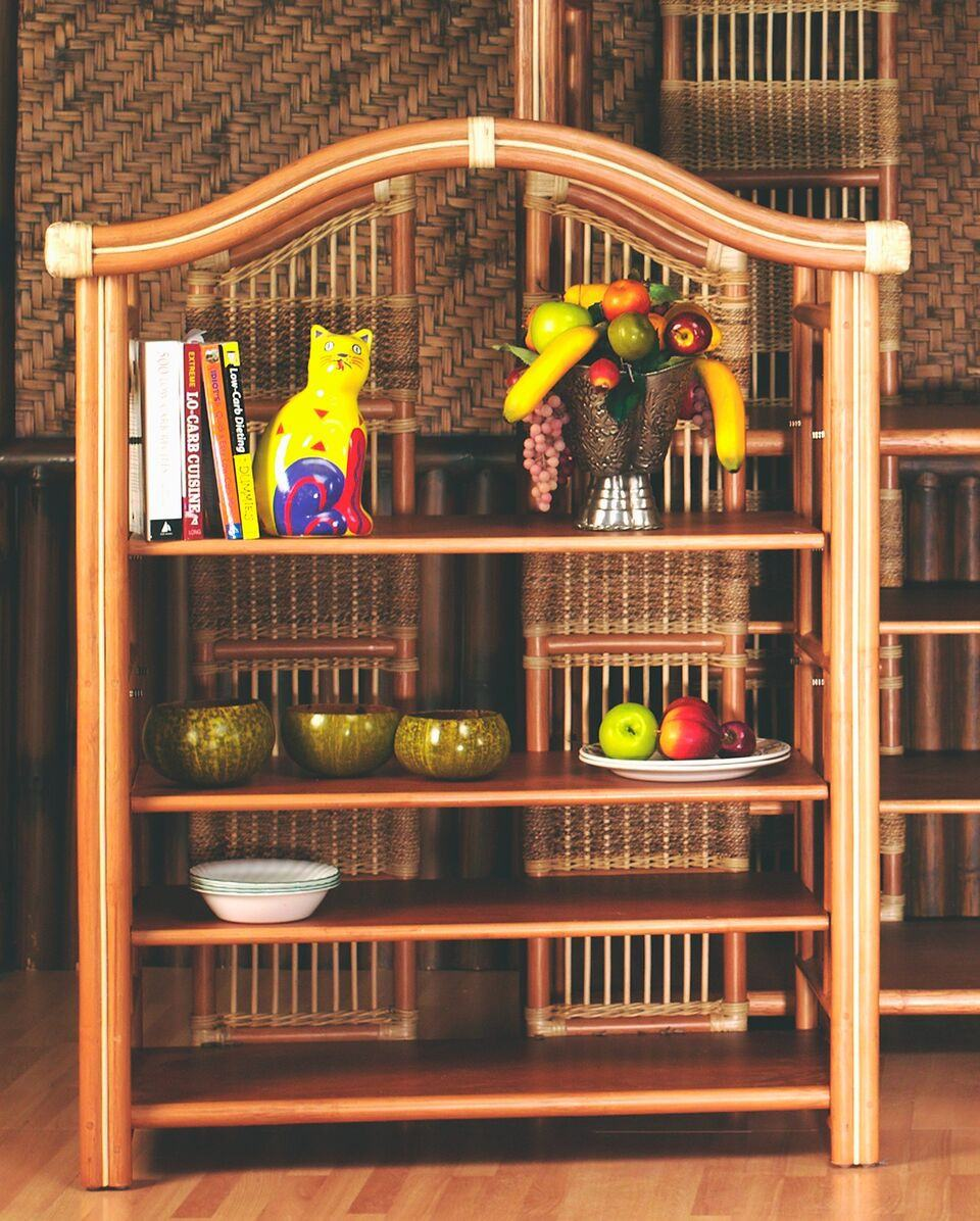 Spice Islands Spice Island Small Etagere Natural Accessory - Rattan Imports