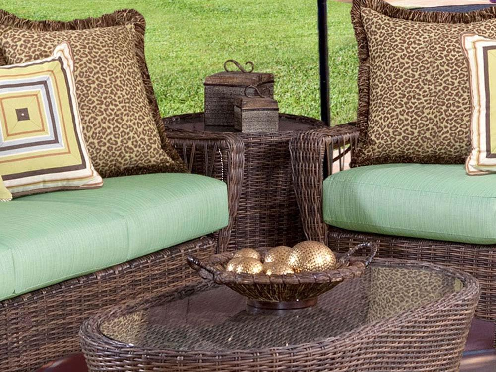 South Sea Rattan South Sea Rattan St. John End Table End Table - Rattan Imports