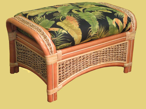 Spice Islands - SPICE ISLAND OTTOMAN NATURAL -  -