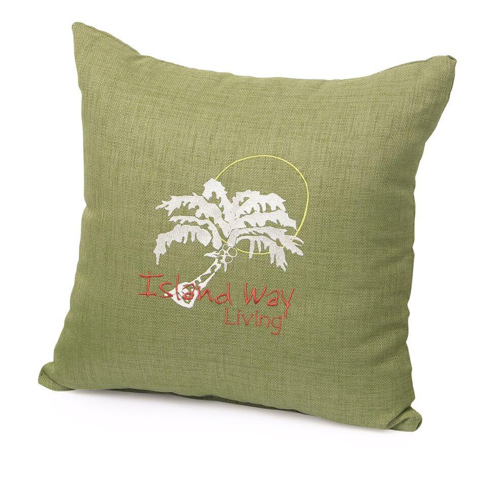 Watermark Living Watermark Living Personalized Throw Pillows Throw Pillow - Rattan Imports
