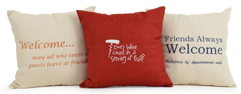 Watermark Living - Watermark Living Personalized Throw Pillows -  -  - 1