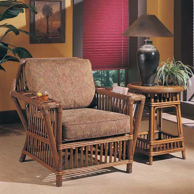 Designer Wicker & Rattan By Tribor Williamsburg Occasional Table by Designer Wicker from Tribor Table - Rattan Imports