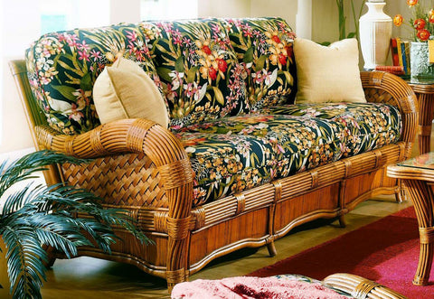 Spice Islands Spice Islands Kingston Reef Sofa Cinnamon Sofa - Rattan Imports