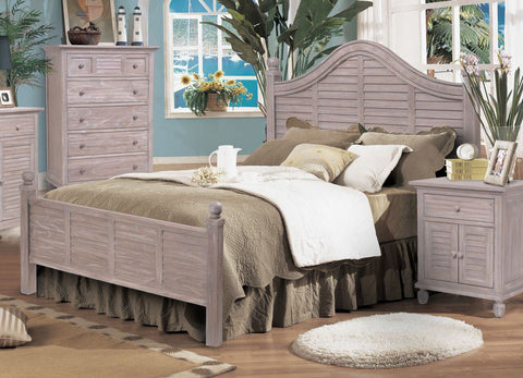Sea Winds Trading - Tortuga Queen Bed -  -  - 1