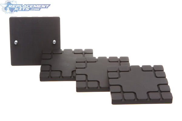 Challenger Lift Square Lift Pads for CL9 & CL10 Lifts  (Set of 4 Pads)
