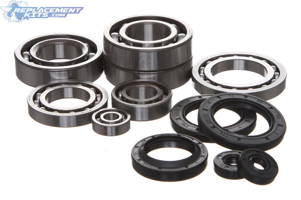 Polaris 400 400L Complete Engine Bearing & Oil Seal Rebuild Kit Featuring KOYO® Bearings