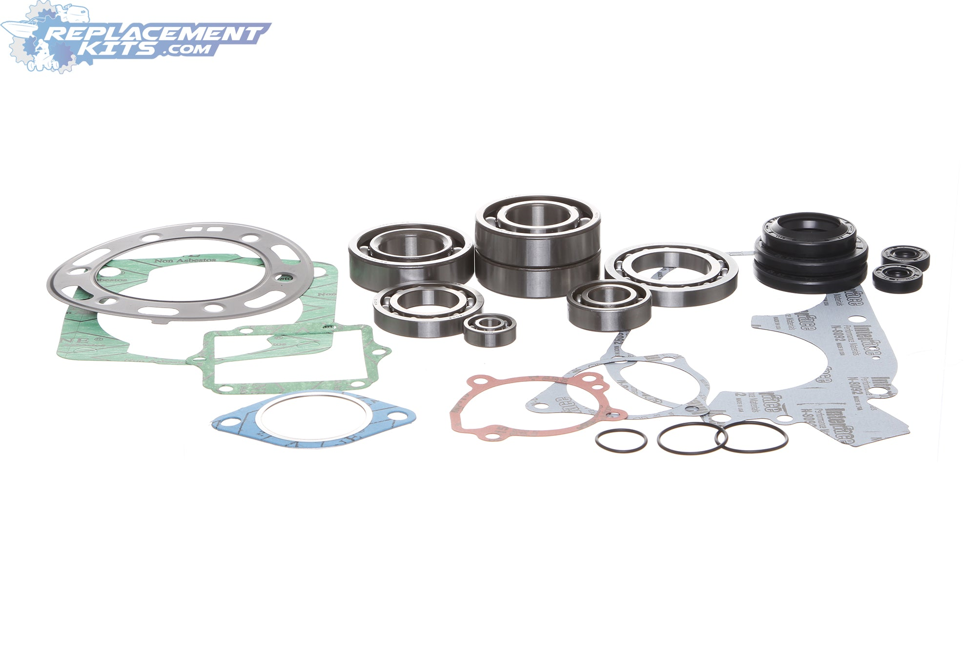 Polaris 400 400L Complete Engine Gasket, Bearing & Oil Seal Rebuild Kit