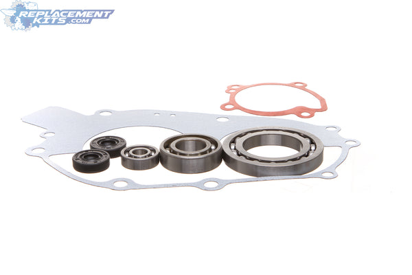 Polaris 350L Water Pump + Partial Crankcase Rebuild Kit Bearings Seals Gaskets