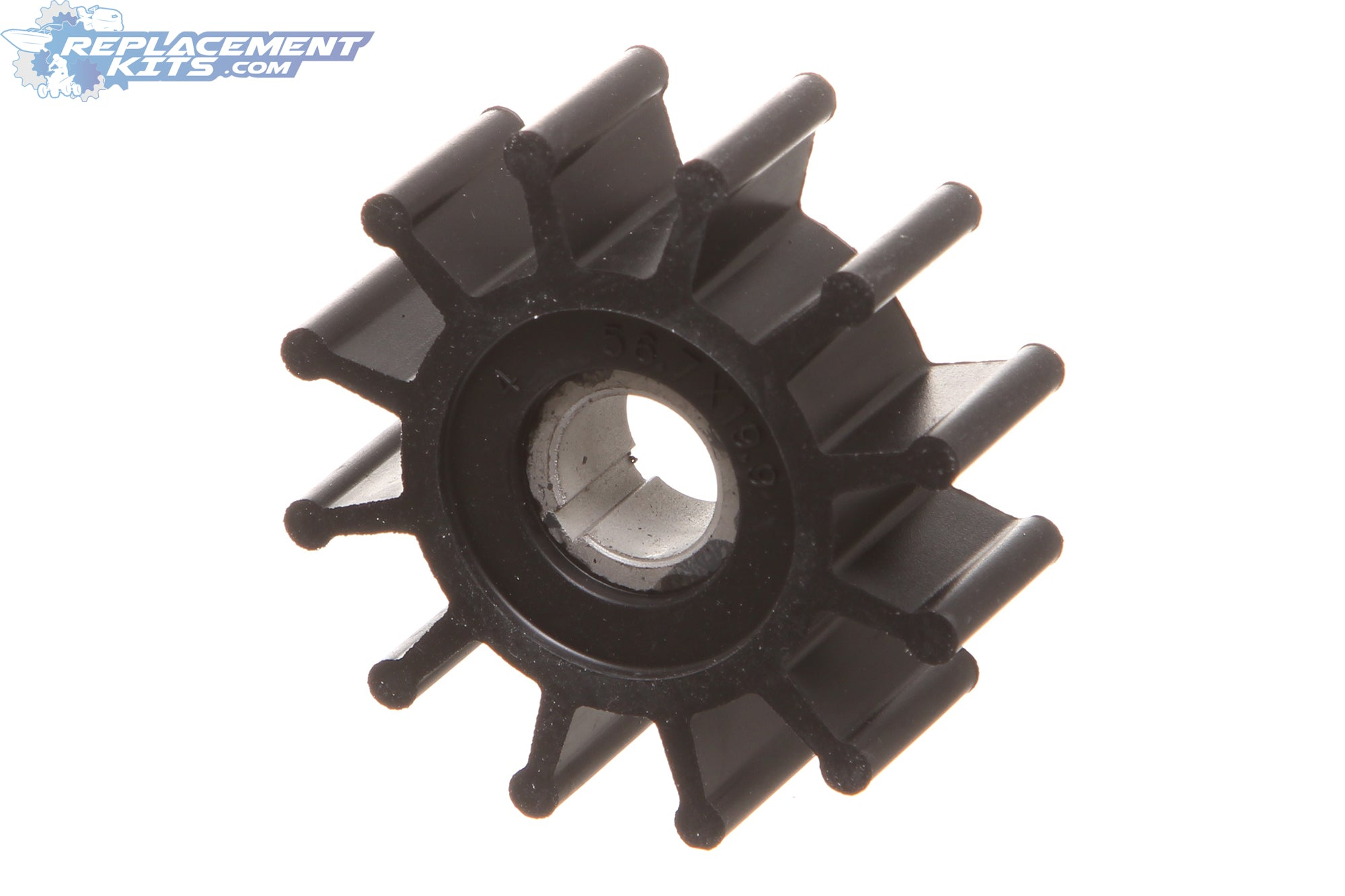 12 Blade Impeller For Sherwood 10077K Onan 132-0375 Westerbeke 11764 33100 Chris